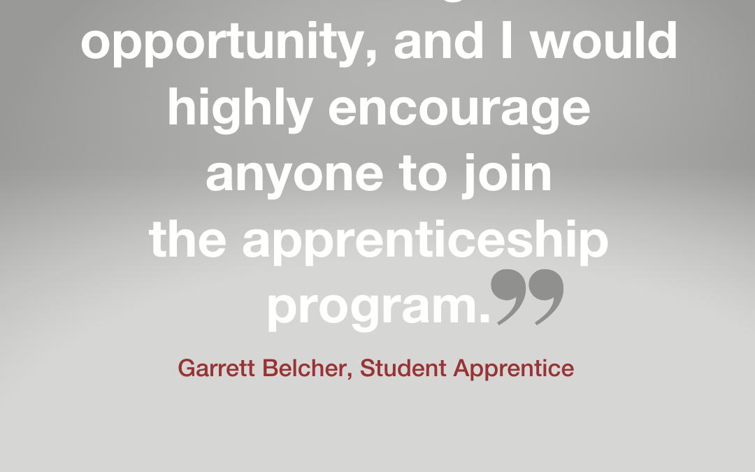 Our Student Apprenticeship Program
