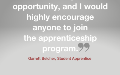 Our Student Apprenticeship Program