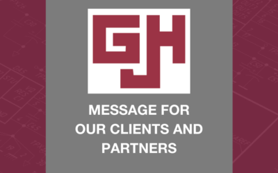 Message for G.J. Hopkins Clients and Partners