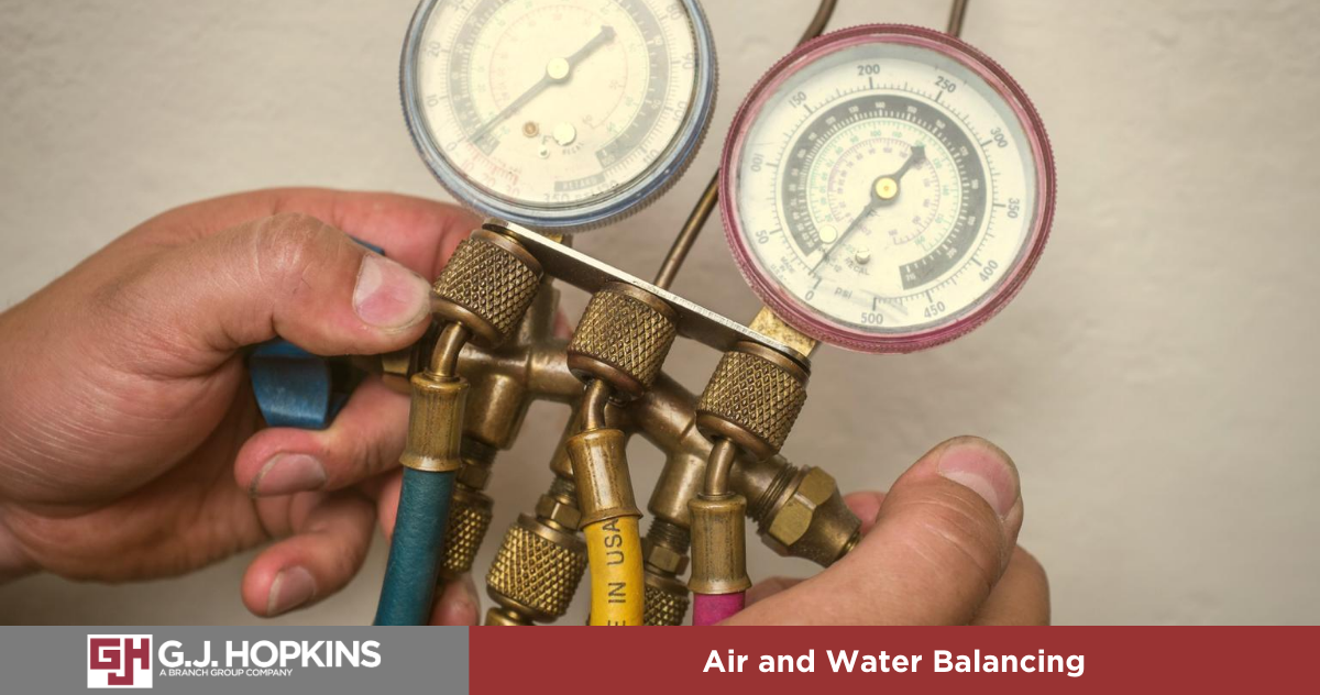 Is air and water balancing on your HVAC maintenance checklist