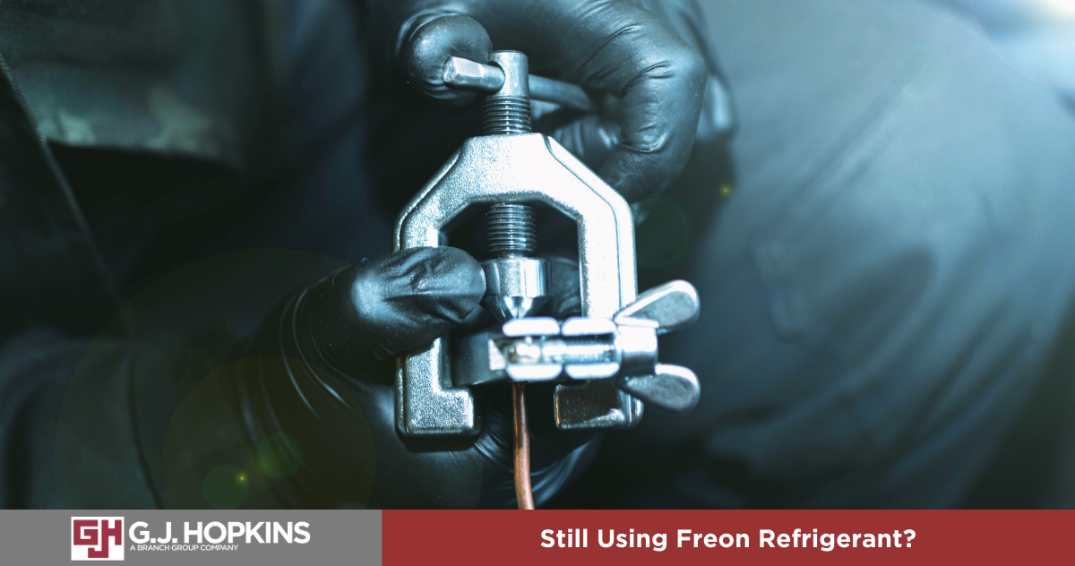 Still Using Freon Refrigerant?